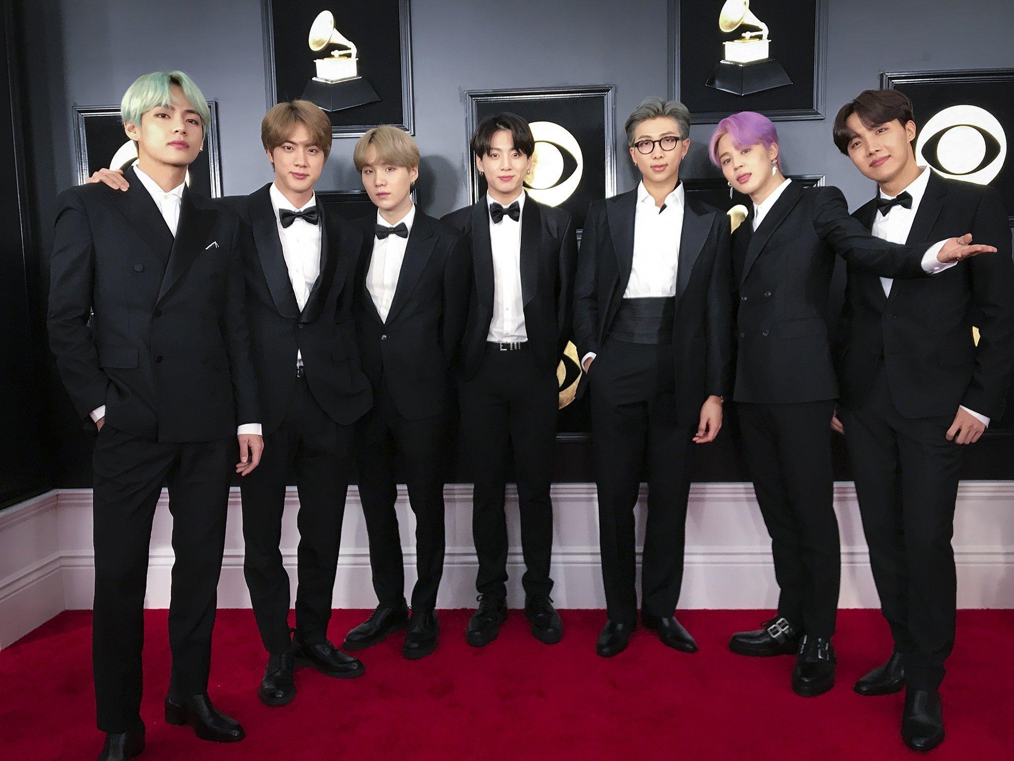sự kiện văn hóa 2019 - BTS tại Grammy 2019
