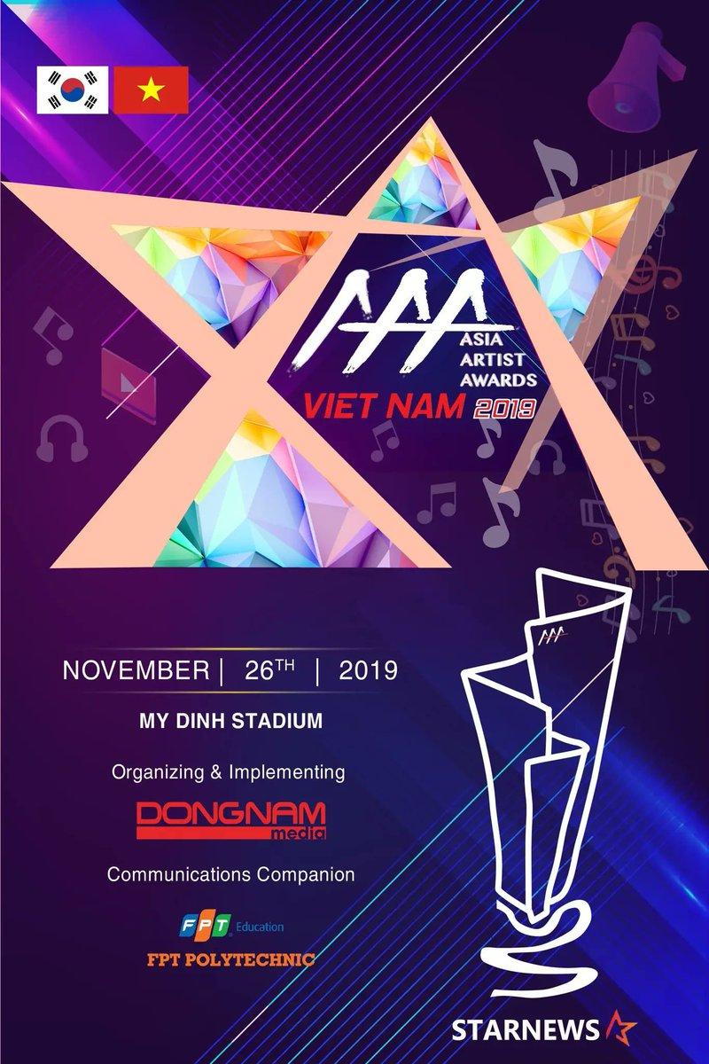sự kiện văn hóa 2019 - aaa tại việt nam 2019