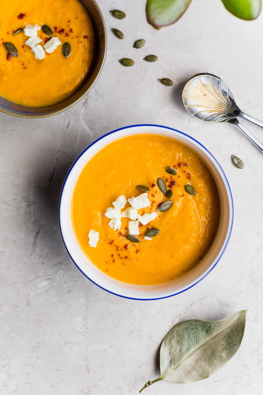 gia vị tăng cường trao đổi chất súp cà rốt