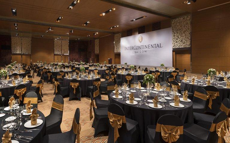 sảnh tiệc của khách sạn Intercontinentall