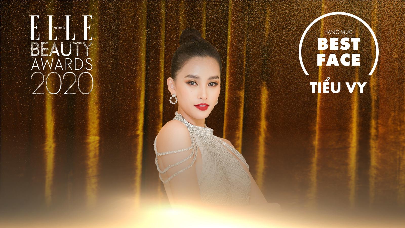 hoa hậu tiểu vy elle beauty awards 2020