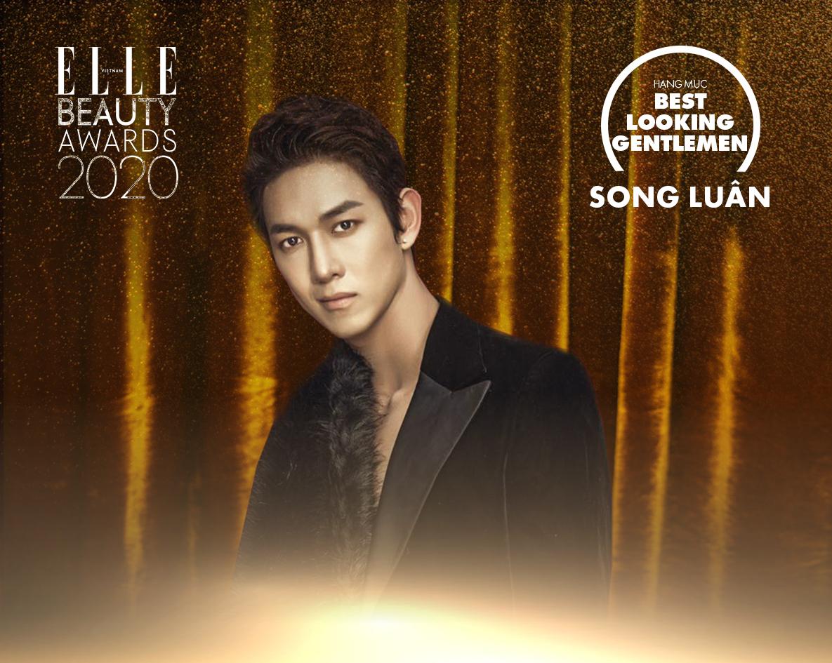 Song Luân giành giải quý ông tại ELLE Beauty Awards