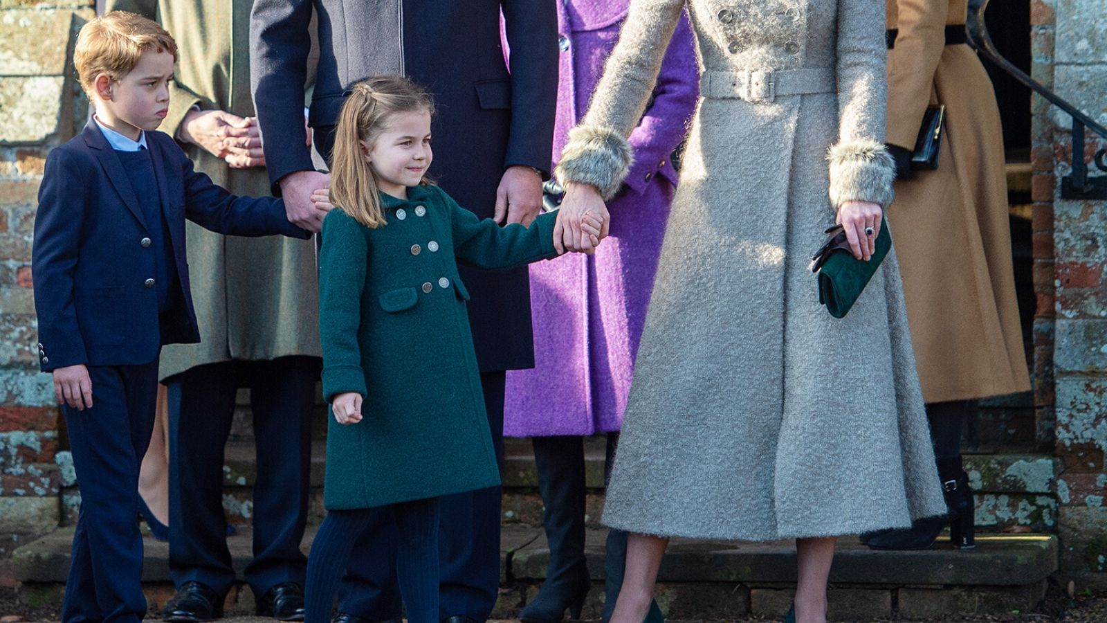 Hoàng tử George và Công chúa Charlotte