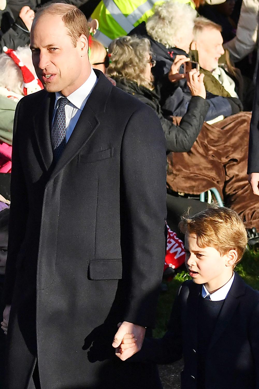 Hoàng tử George và Hoàng tử William