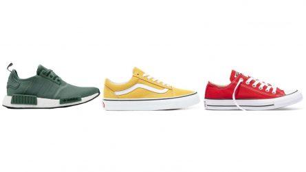Điểm lại 10 kiểu giày sneakers