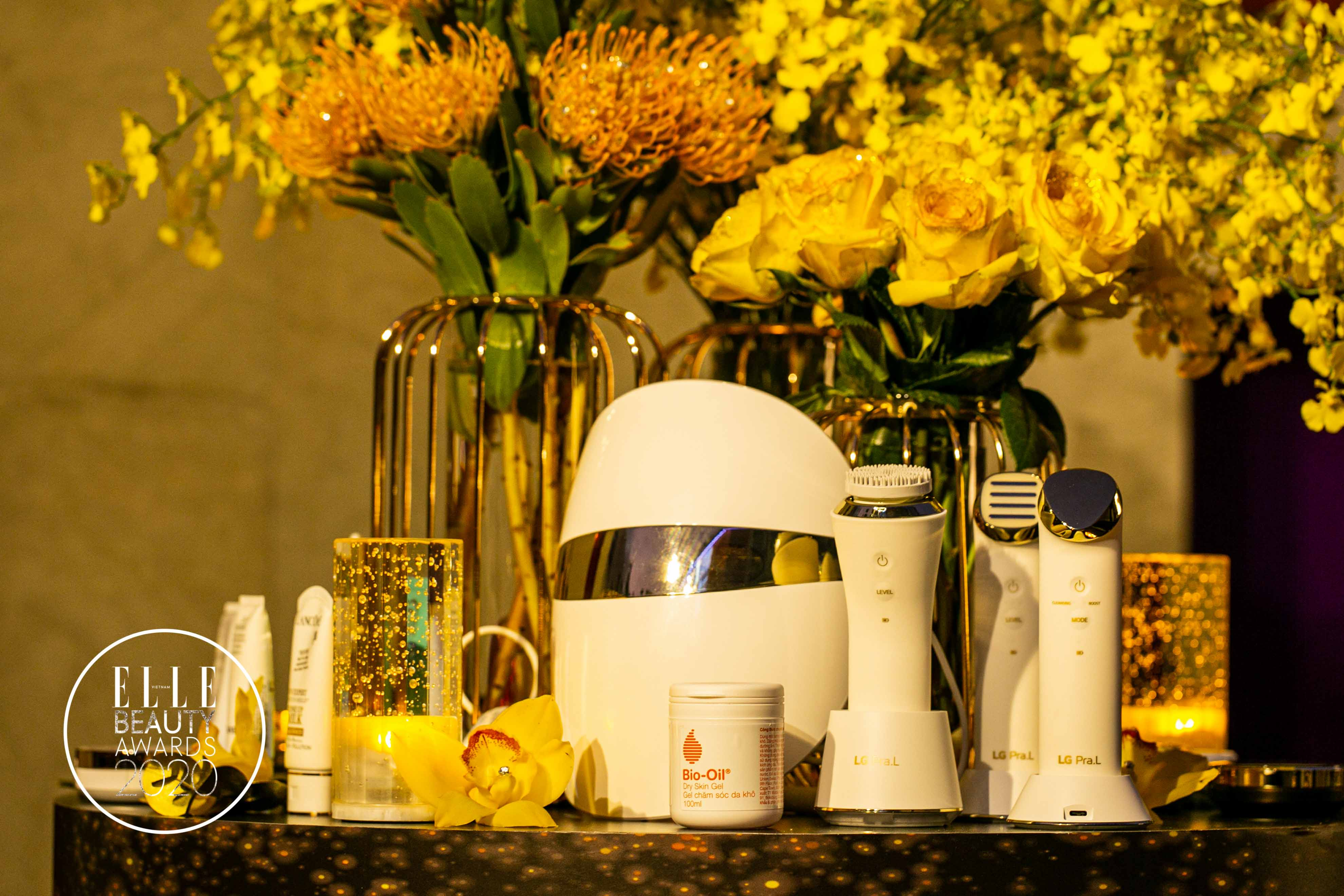 LG Pra.L – mặt nạ Derma LED tại elle beauty awards 2020