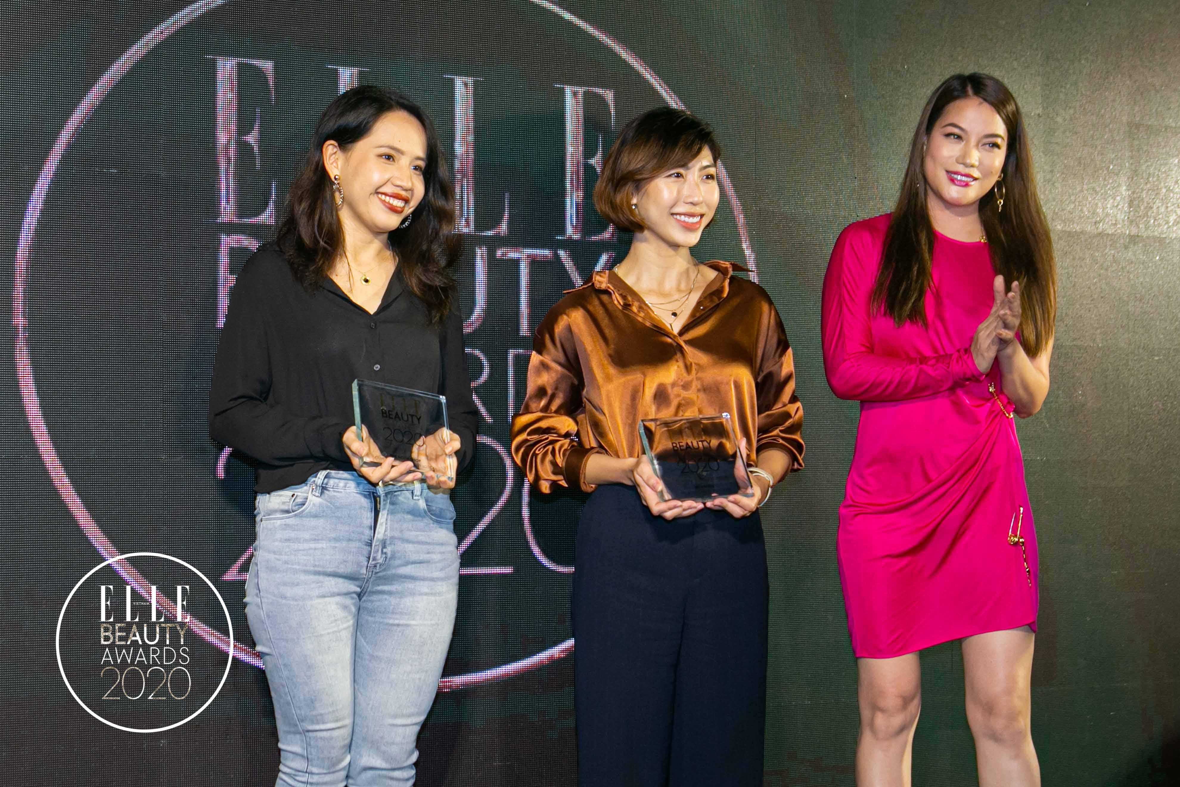 trương ngọc ánh trao giải tại elle beauty awards 2020 4