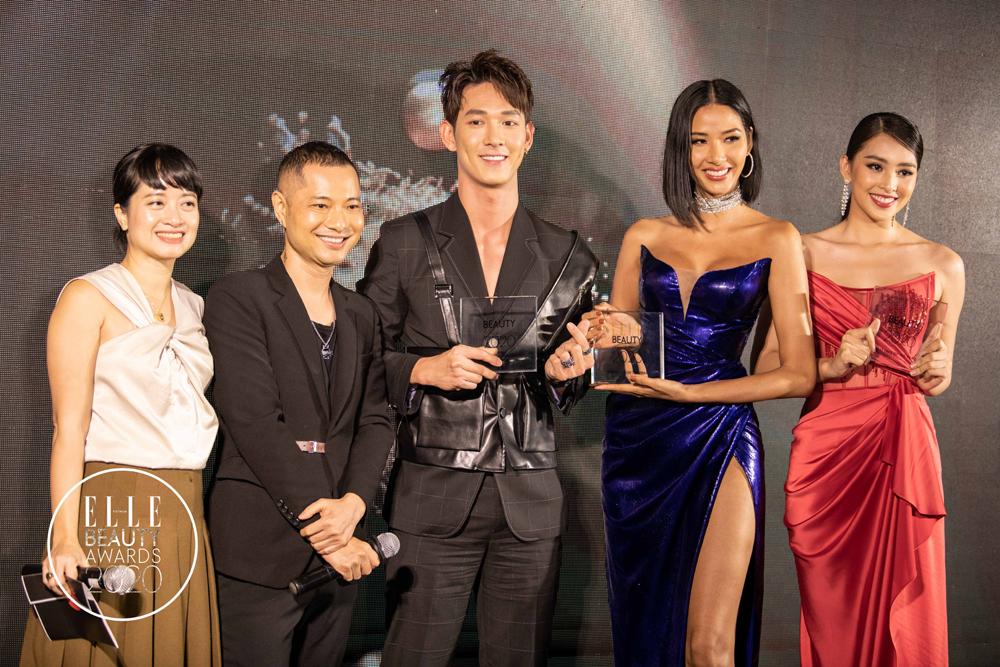 trao giải nhân vật elle beauty awards 2020