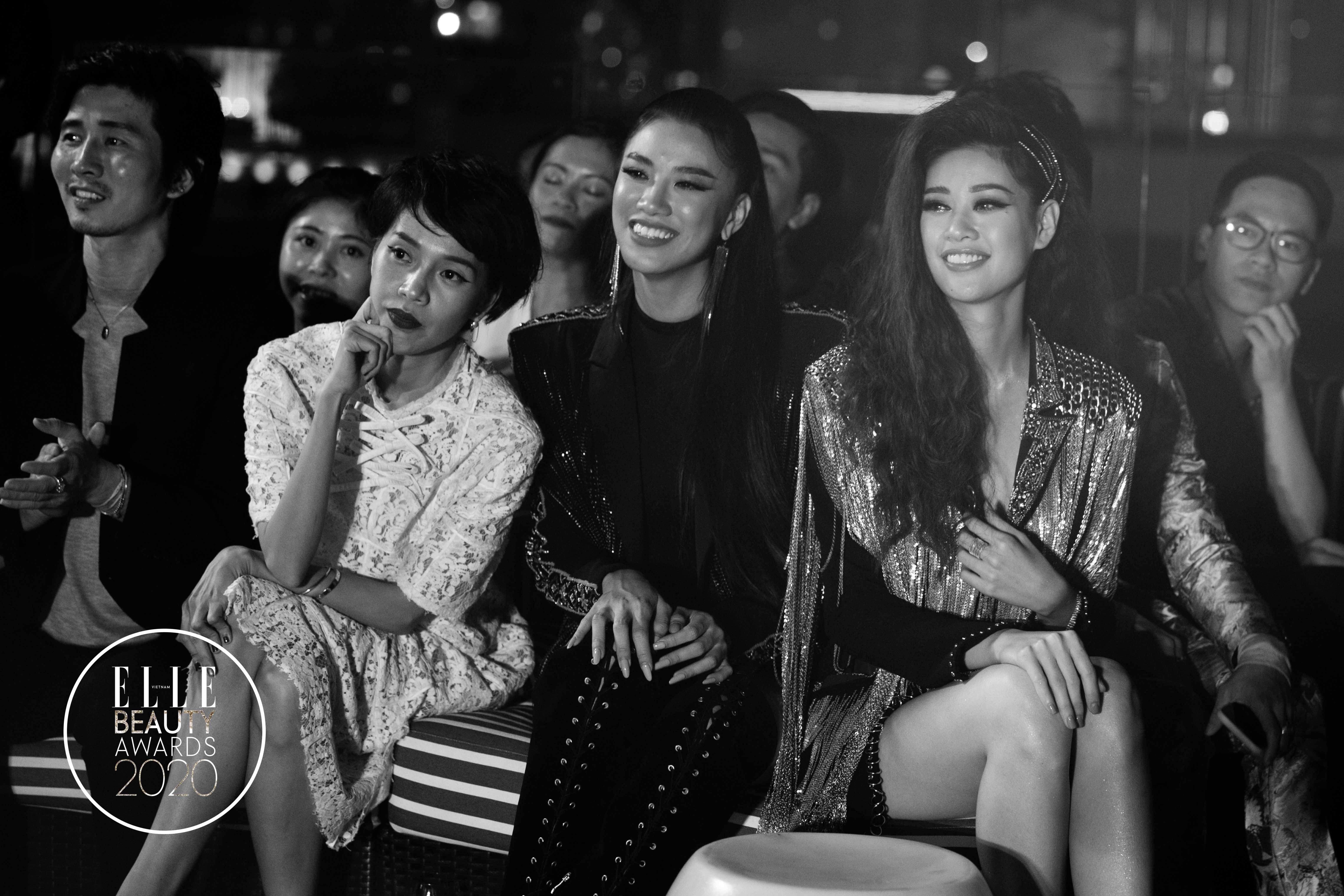 vũ cát tường trình diễn tại elle beauty awards 3