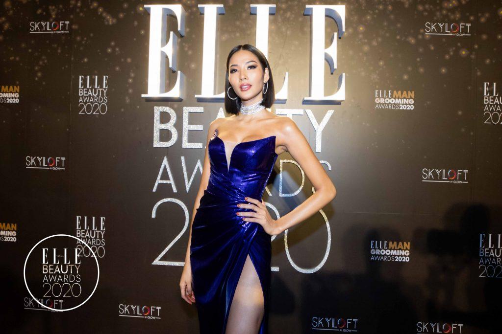 elle beauty awards 2020 người mẫu Hoàng Thuỳ