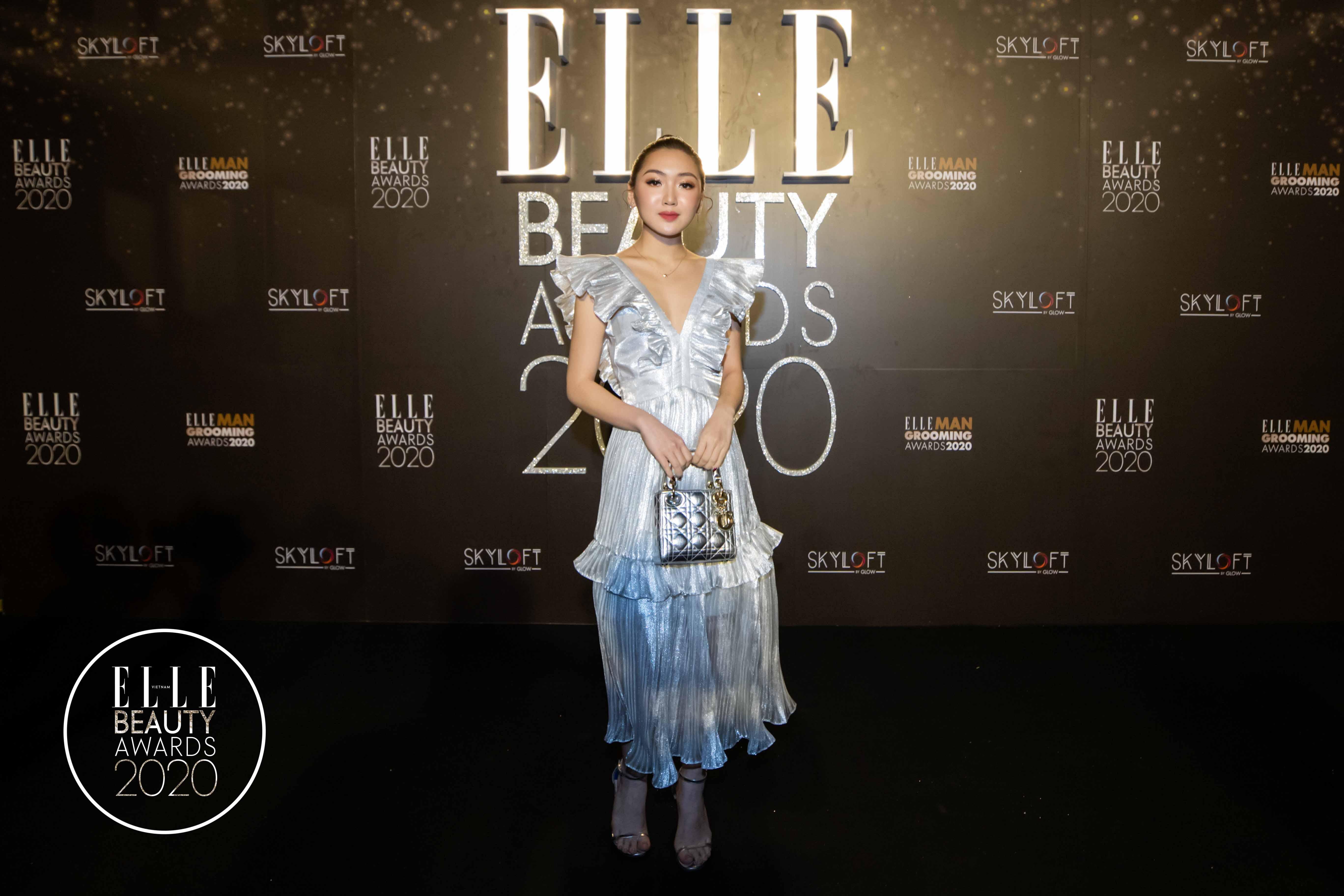 Chloe Nguyễn trên thảm đỏ EBAs 2020