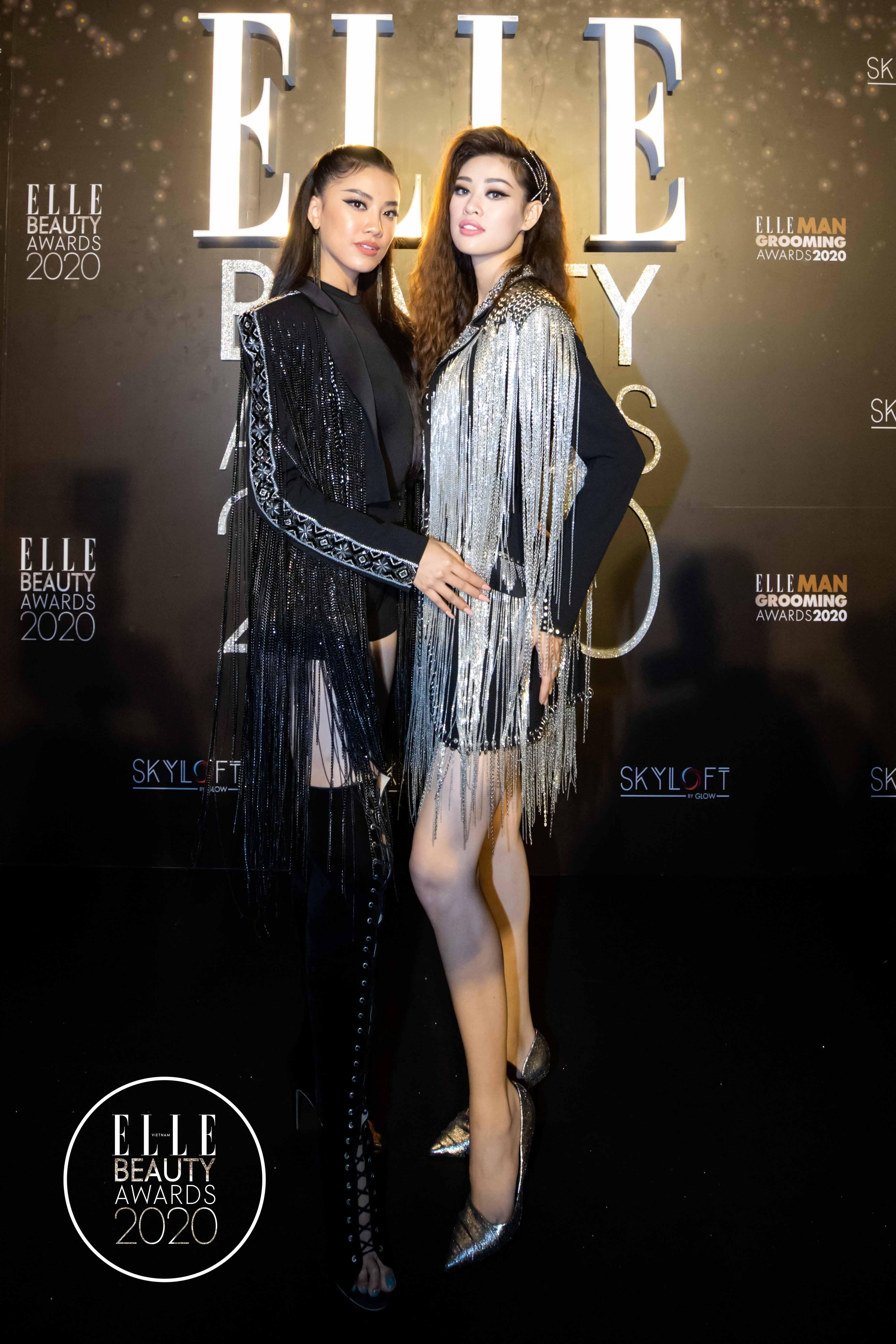 Hoa hậu Hoàn vũ 2019 Khánh Vân và Á hậu Kim Duyên