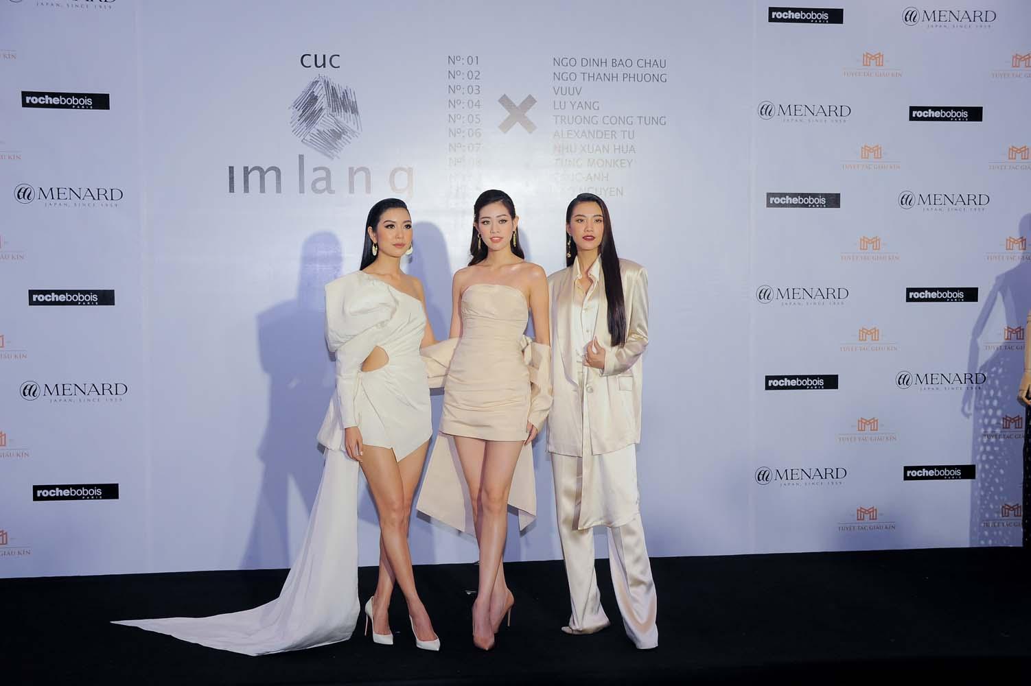 Top 3 Hoa hậu hoàn vũ 2019 dự triển lãm cục im lặng của nguyễn công trí