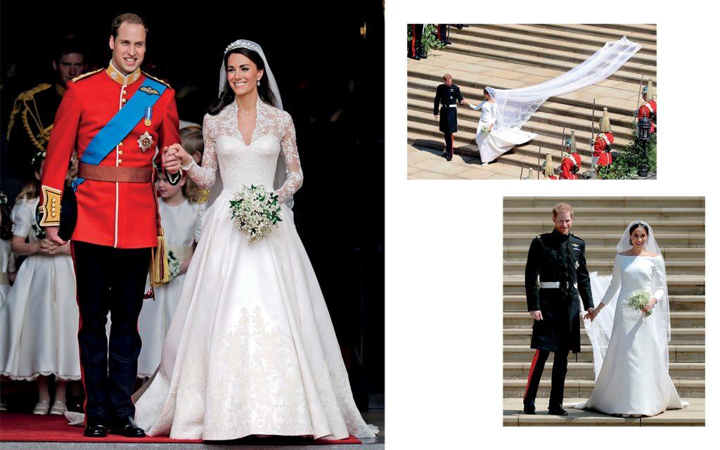 thời trang những đám cưới hoàng gia Anh