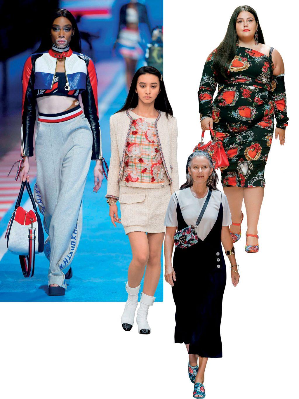thời trang quy chuẩn người mẫu