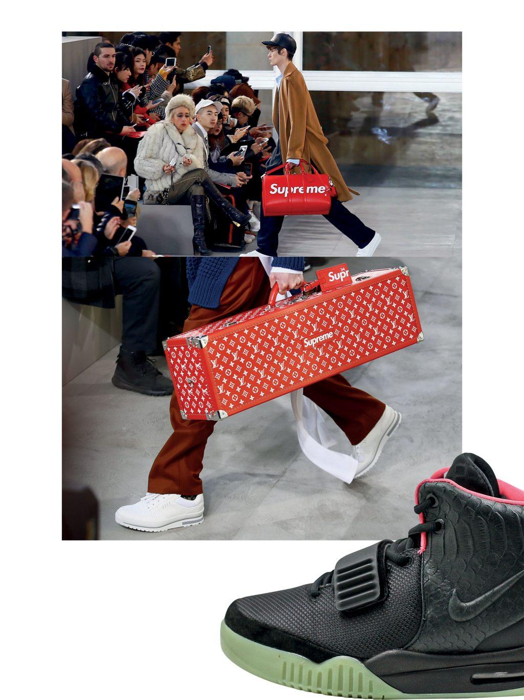 thời trang sneakers phong cách streetwear