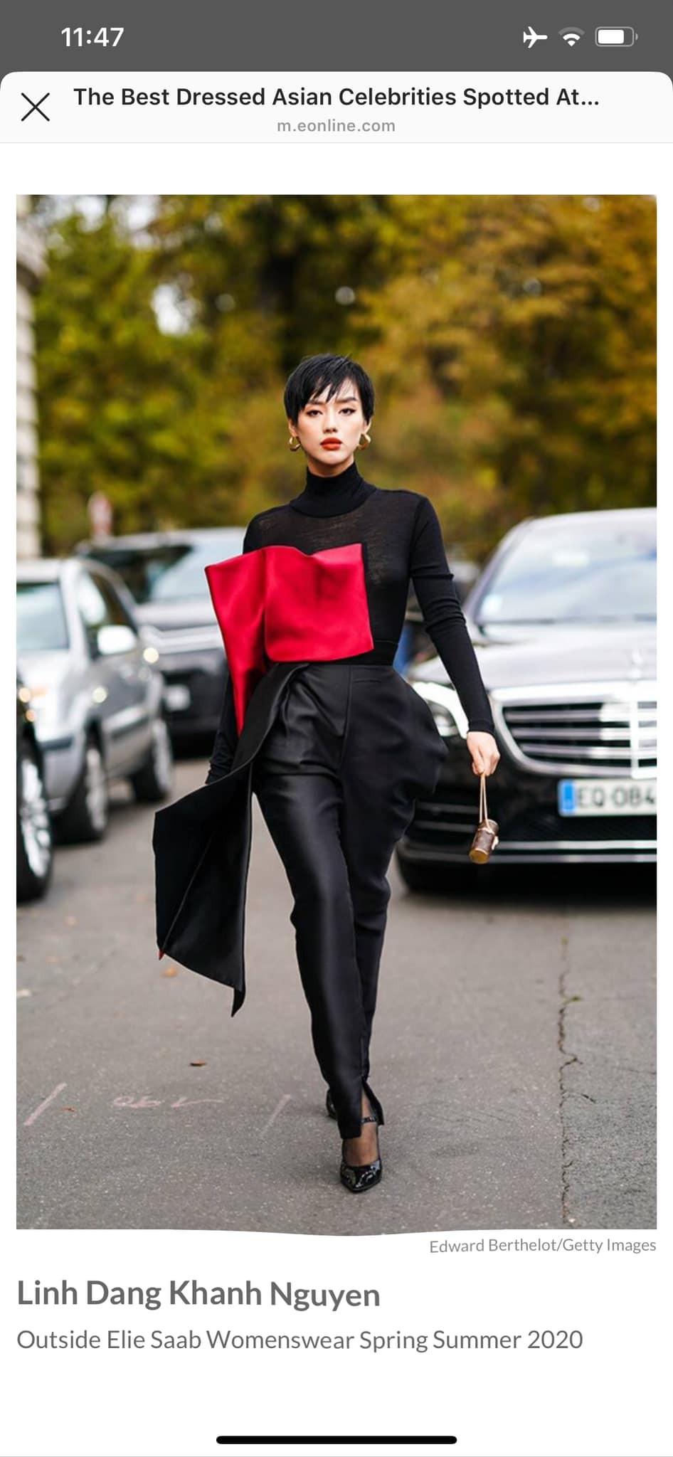 Fashionista Khánh Linh trong thiết kế Phương My