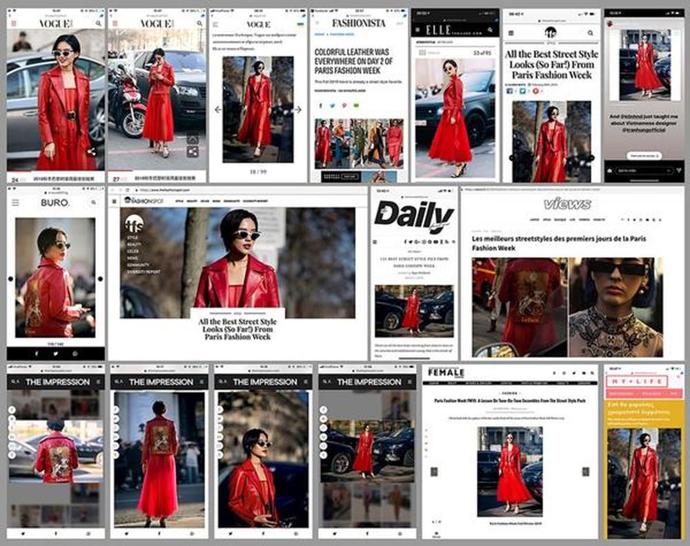 Fashionista Việt Khánh Linh thiết kế của NTK Trần Hùng