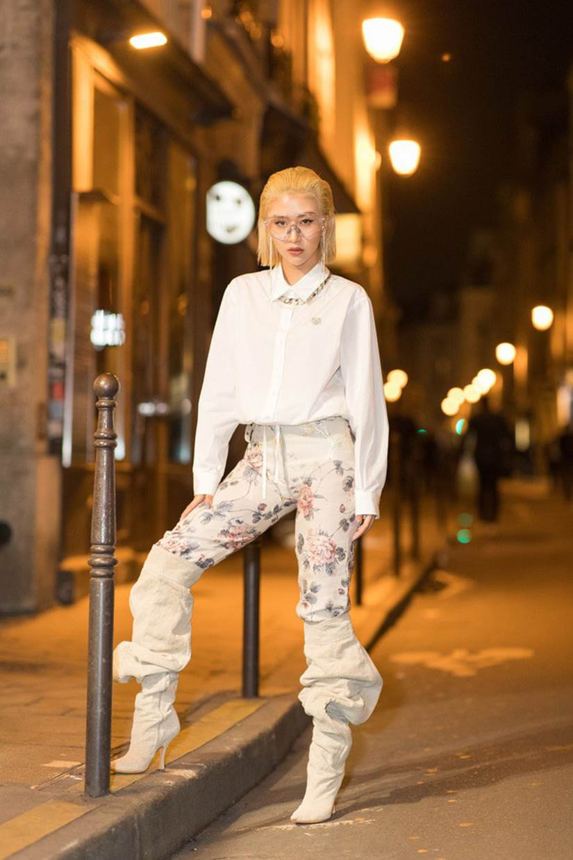 Fashionista Việt Quỳnh Anh Shyn dự show Kenzo
