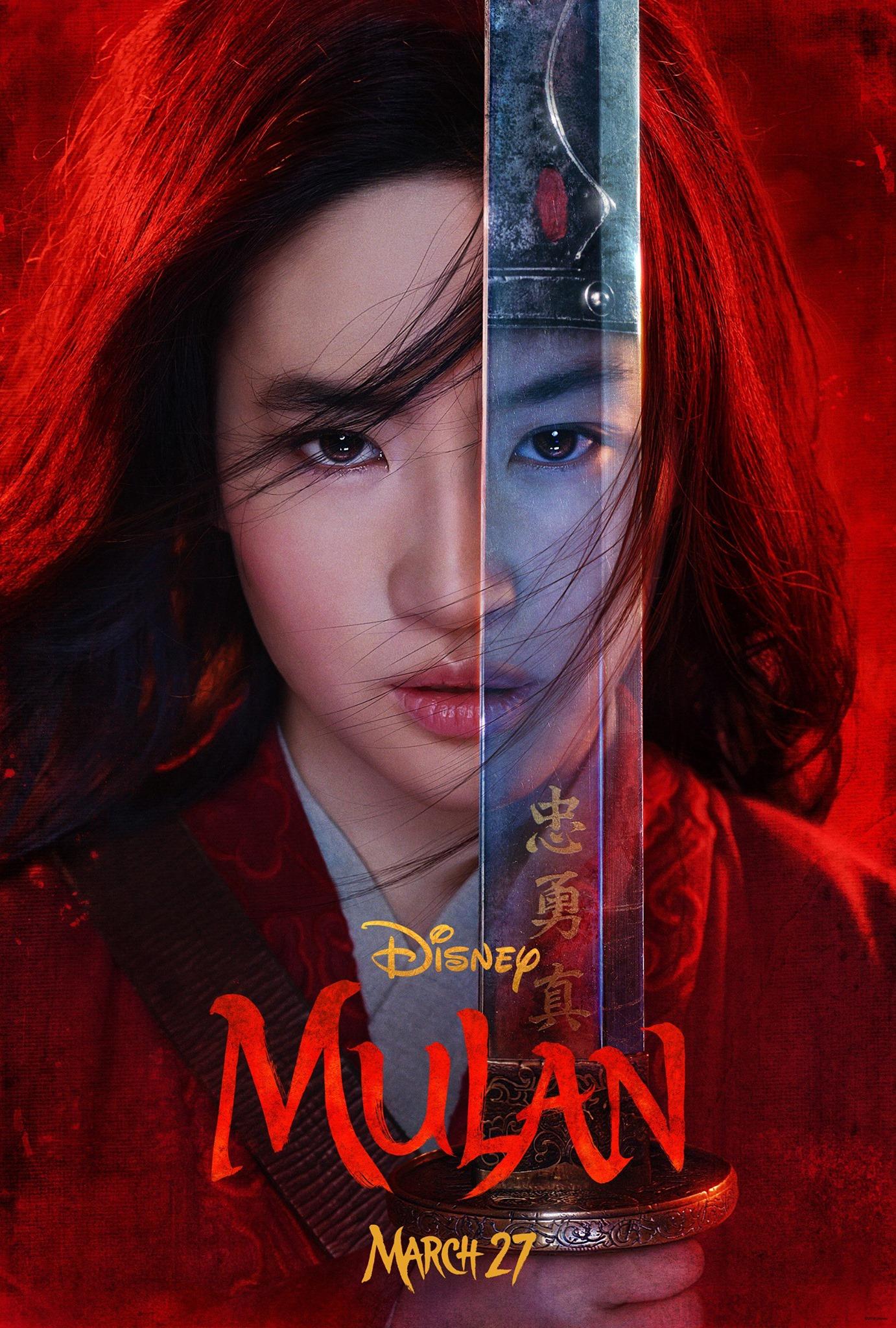 mulan poster phim hay 2020