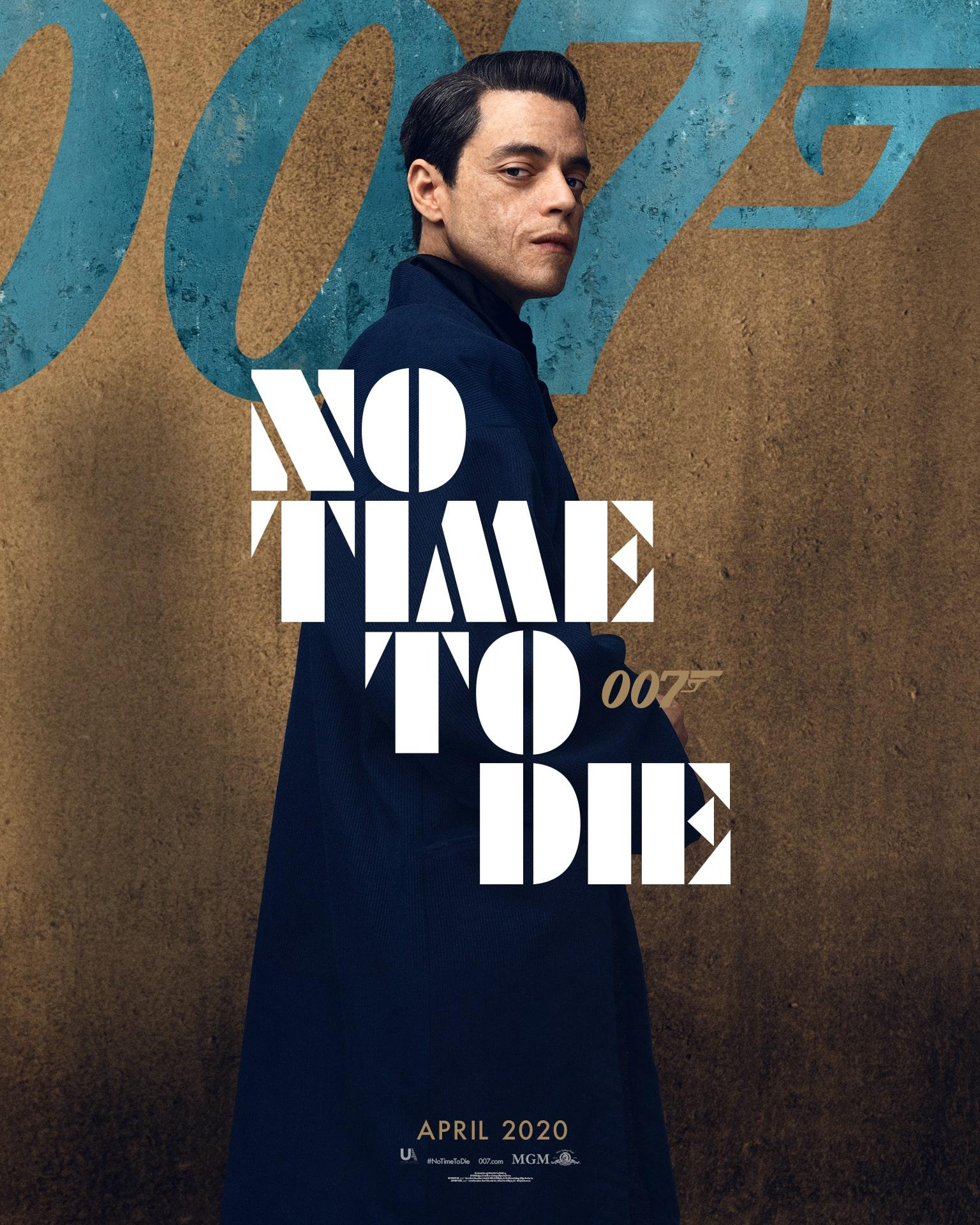 poster phim hay 2020 không có thời gian chết