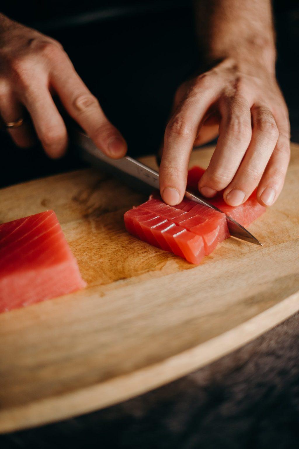 mức tiêu thụ cá ngừ an toàn cho một ngày