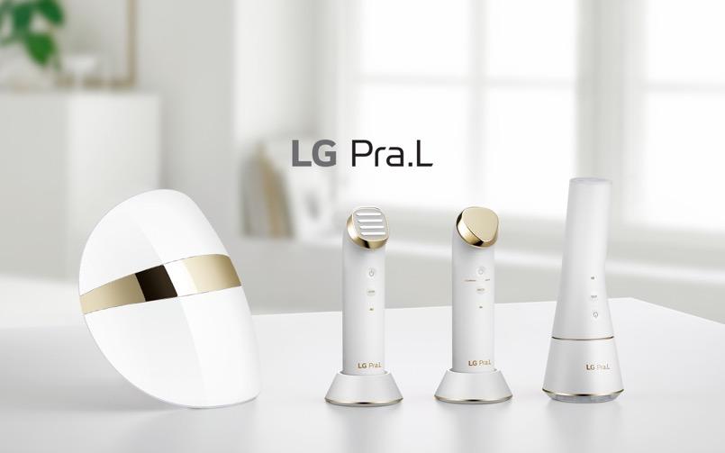 bộ sản phẩm chăm sóc da tại nhà Pra.L