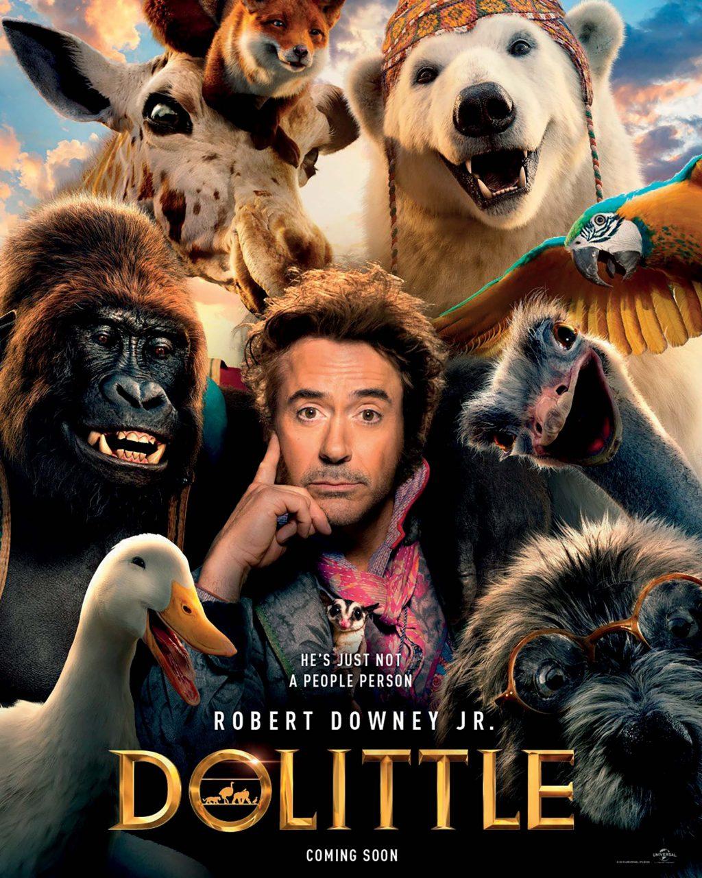 phim chiếu rạp bác sĩ Dolittle