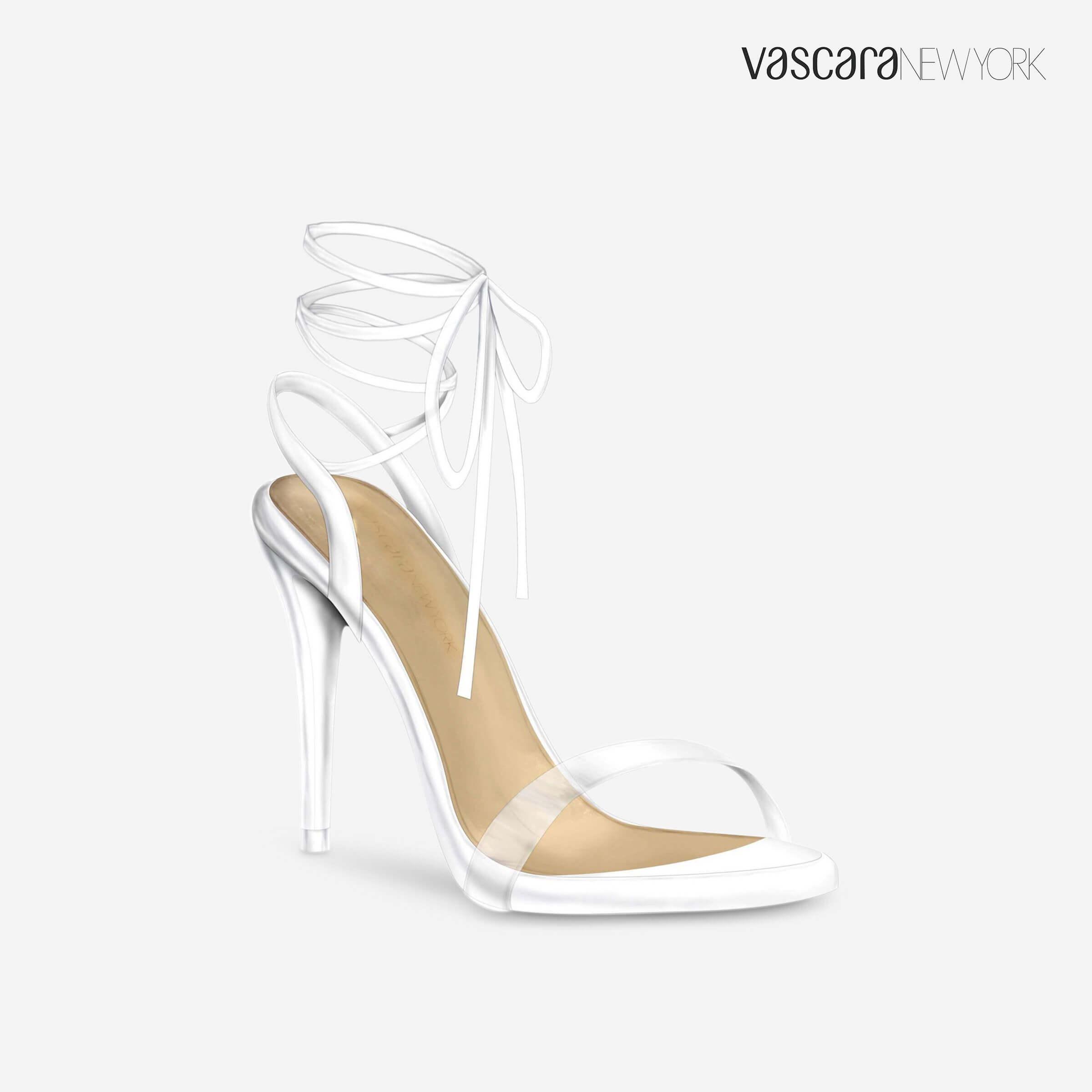 giày cao gót thắt nơ vascara
