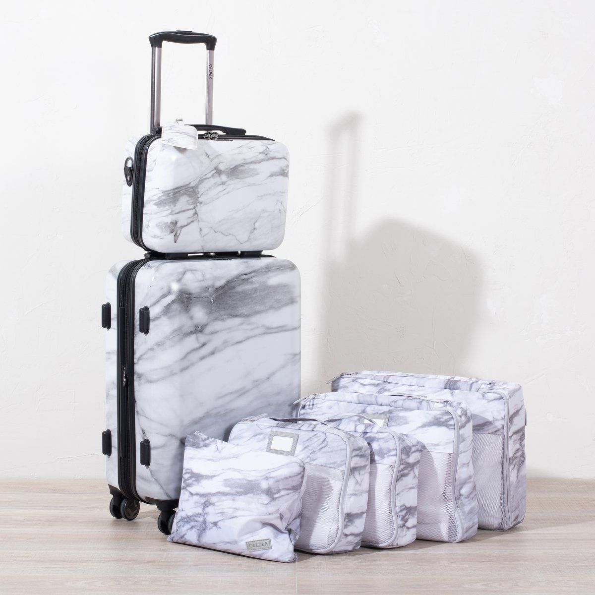 vali du lịch - vali marble