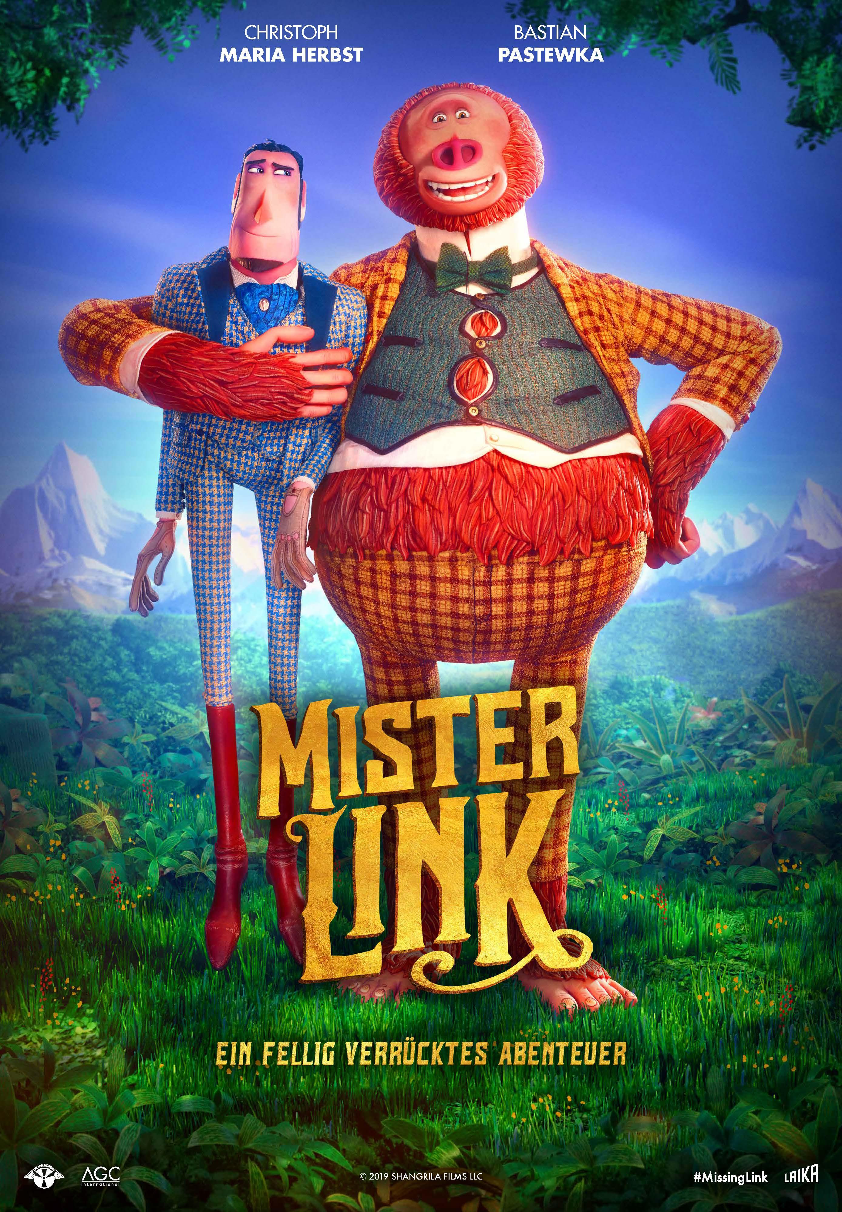 Missing Link thắng giải phim hoạt hình xuất sắc