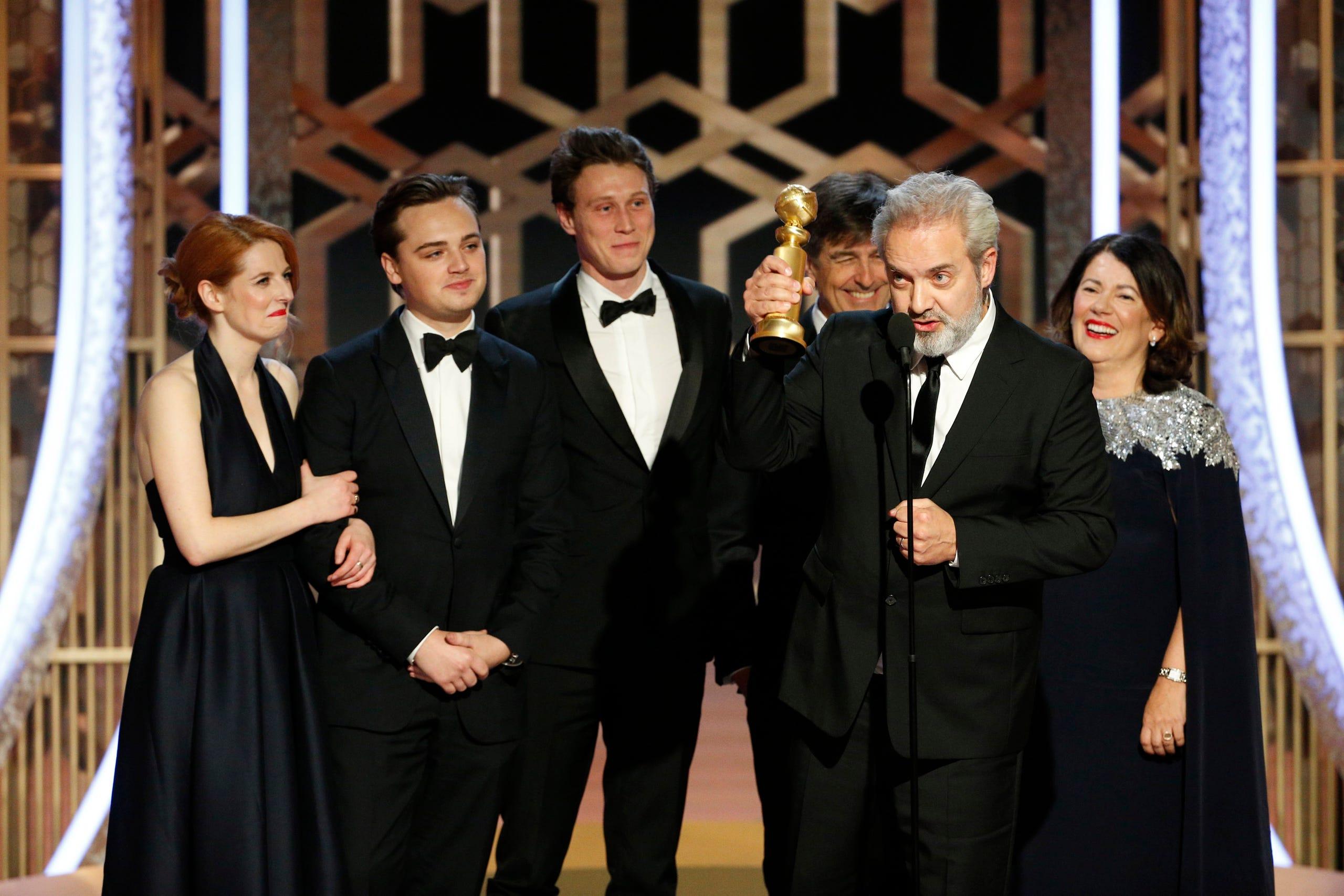 Sam Mendes được trao giải đạo diễn xuất sắc