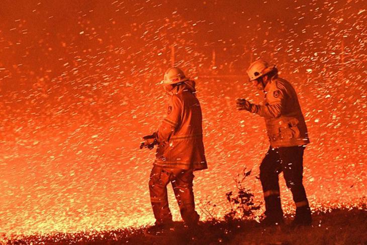 thảm kịch cháy rừng tại Úc 2020