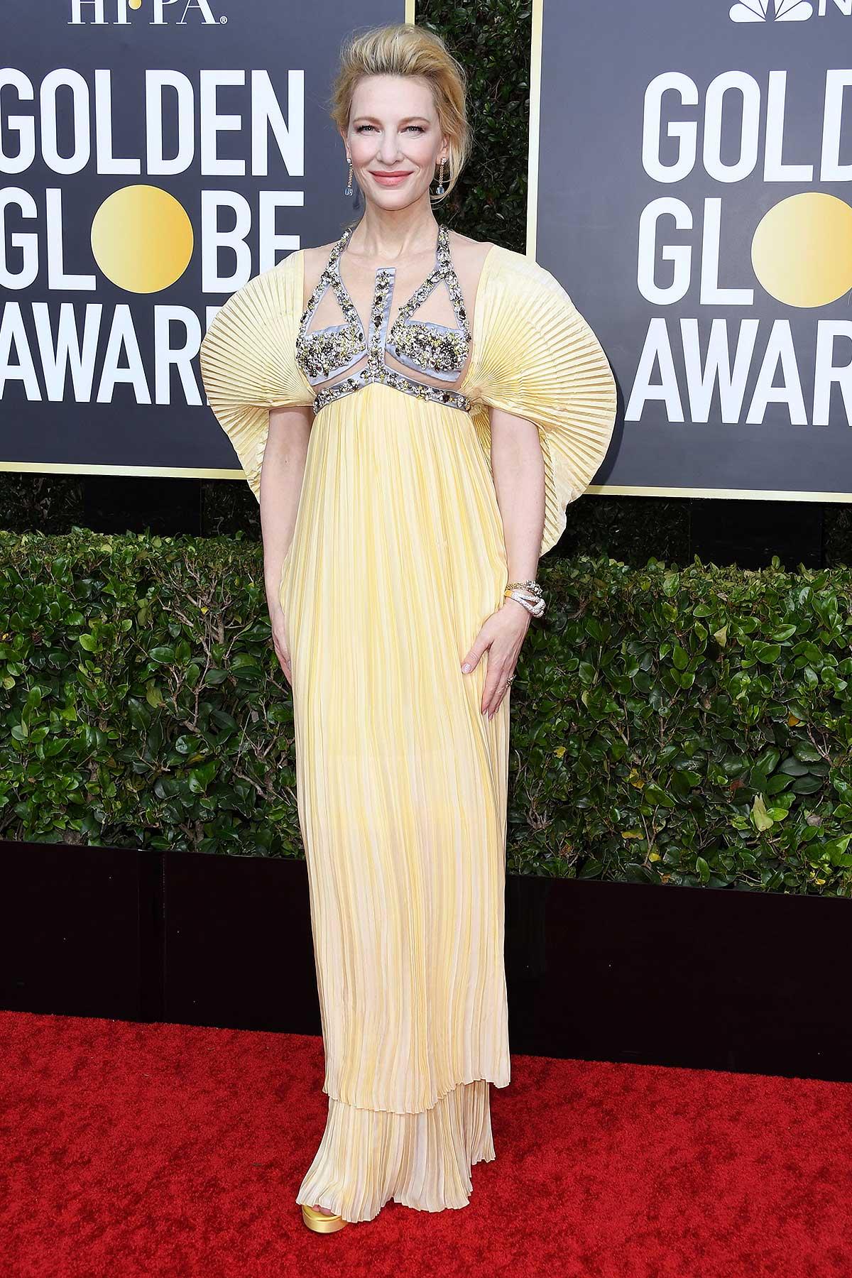 thảm đỏ quả cầu vàng 2020 Cate Blanchett