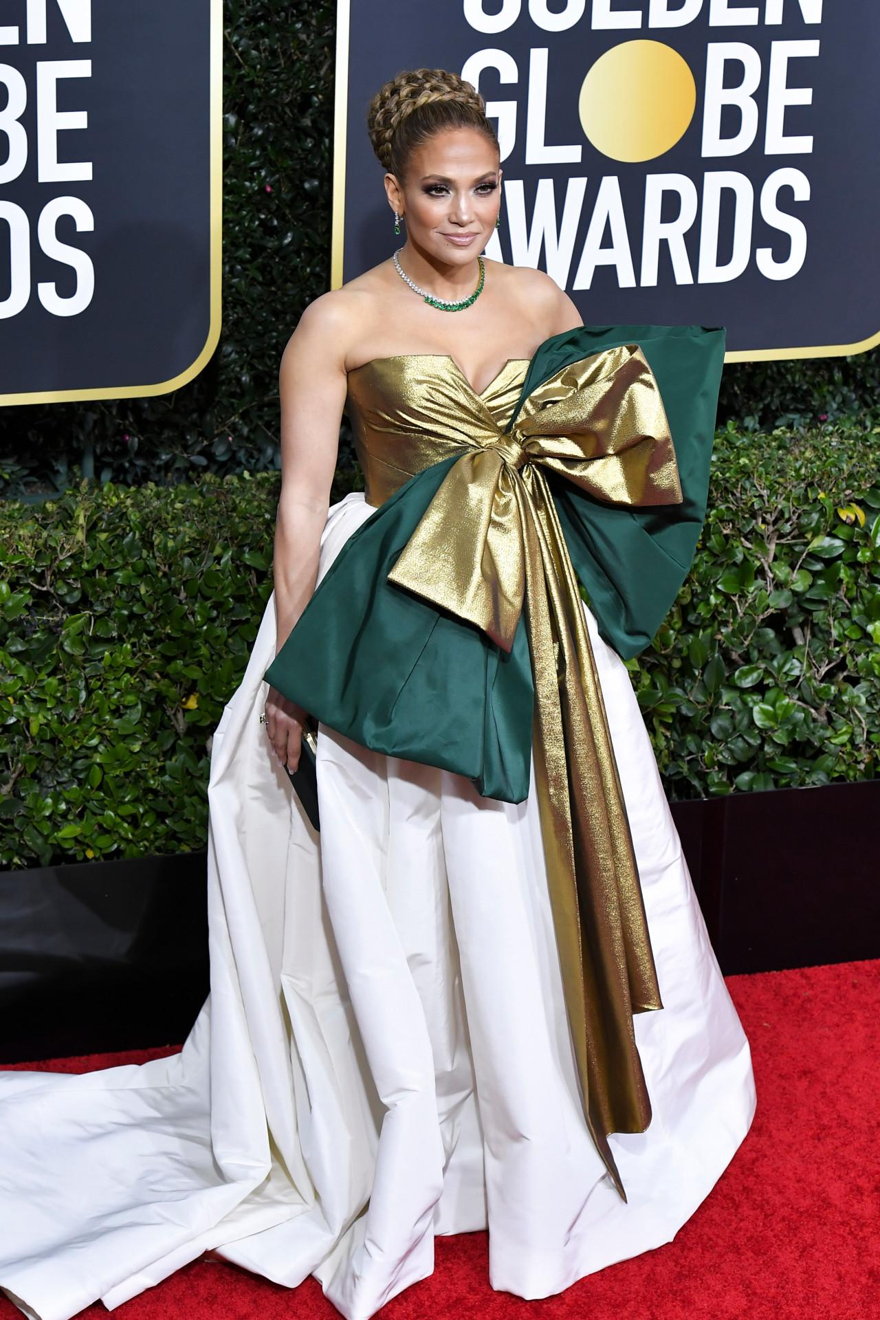 Thảm đỏ Quả Cầu Vàng 2020 Jennifer Lopez