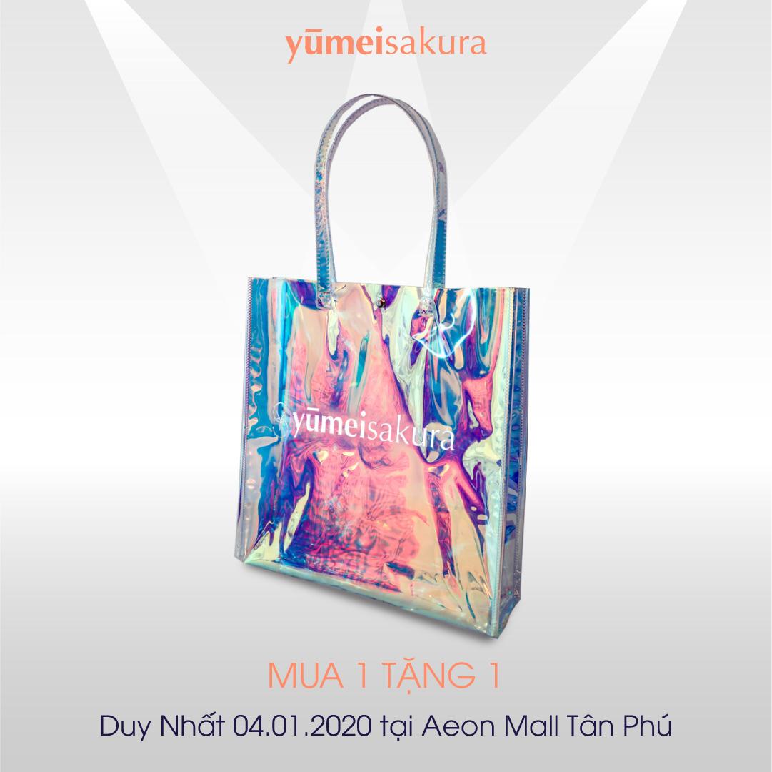 Chiếc túi Yumeisakura - Cơn sốt son khoá màu.