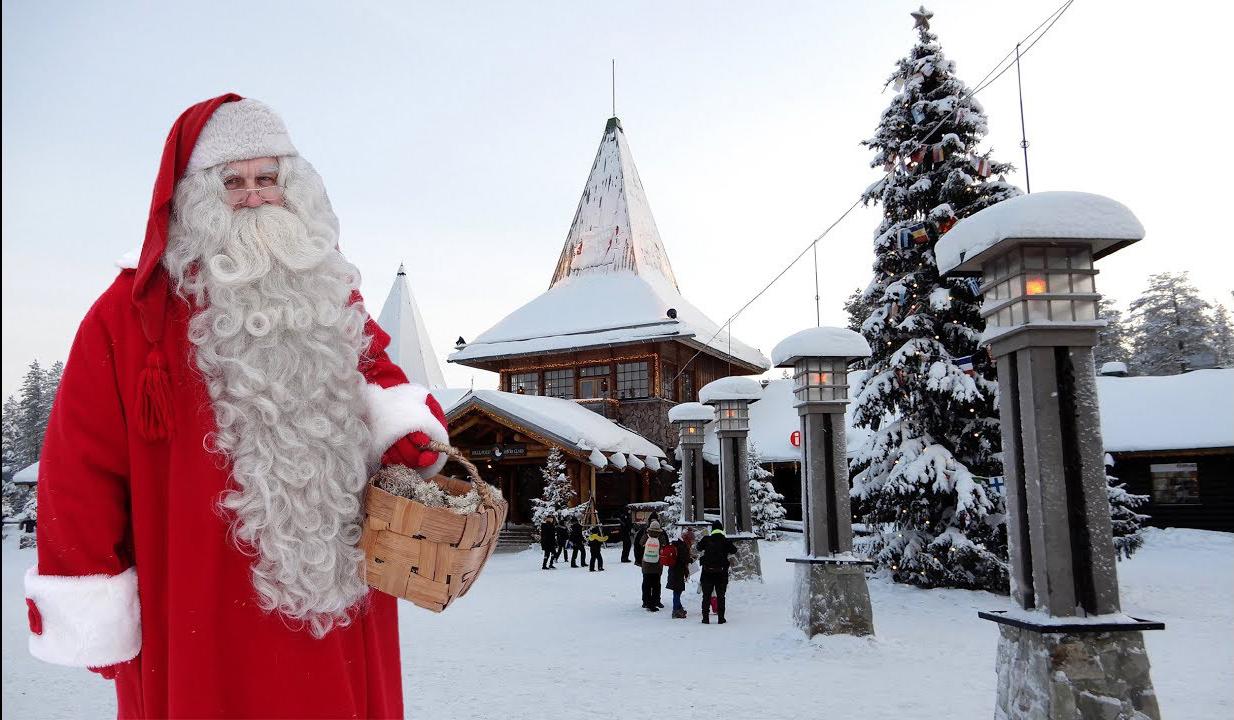 ngôi làng Santa Clause Joulupukk