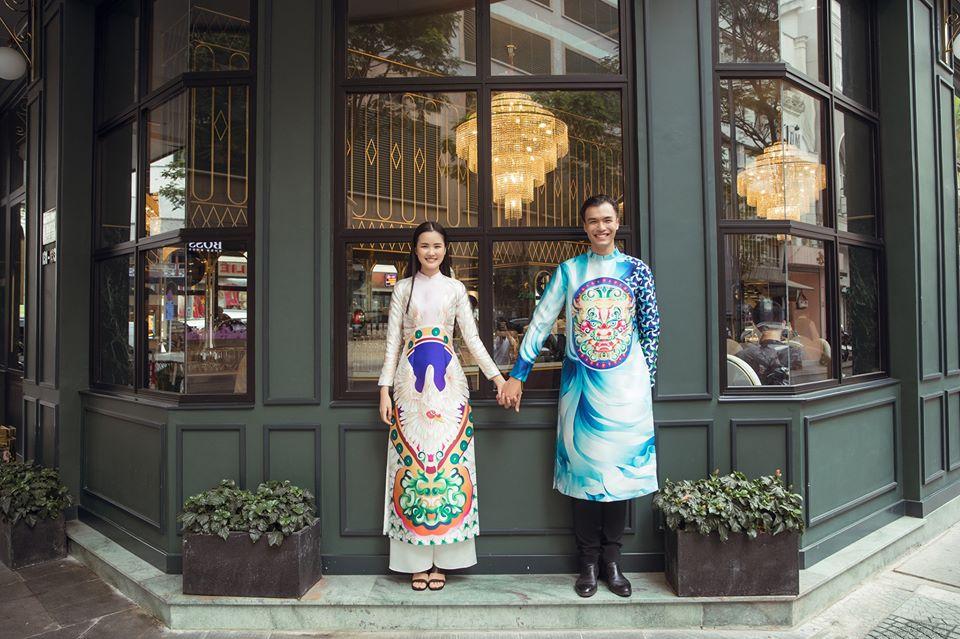 tủ quần áo Tết áo dài xuân Thủy Nguyễn