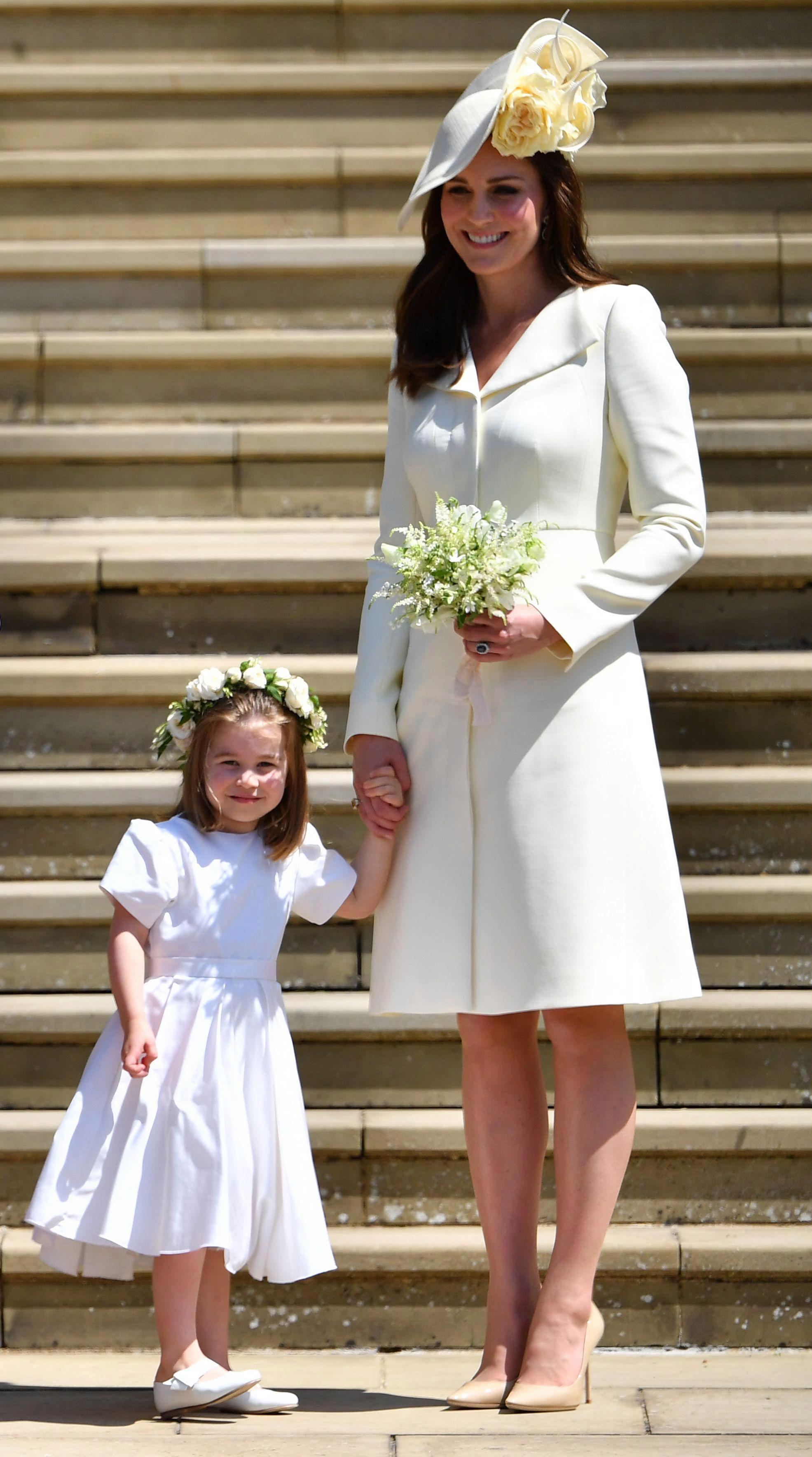 Kate Middleton tại đám cưới của Meghan Markle và Hoàng tử Harry