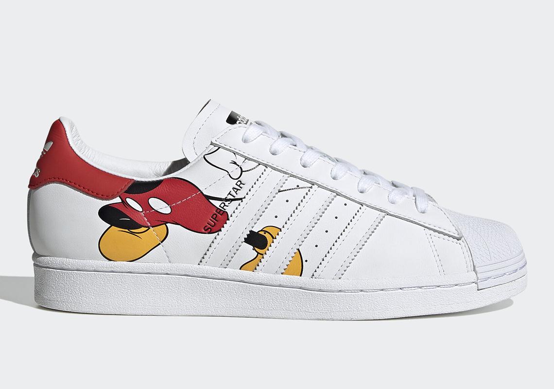 tin thoi trang Adidas Superstar x Disney 2020