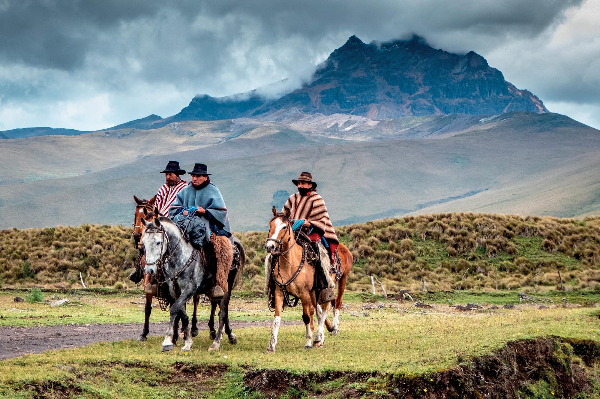 địa điểm Cotopaxi du mục cưỡi ngựa