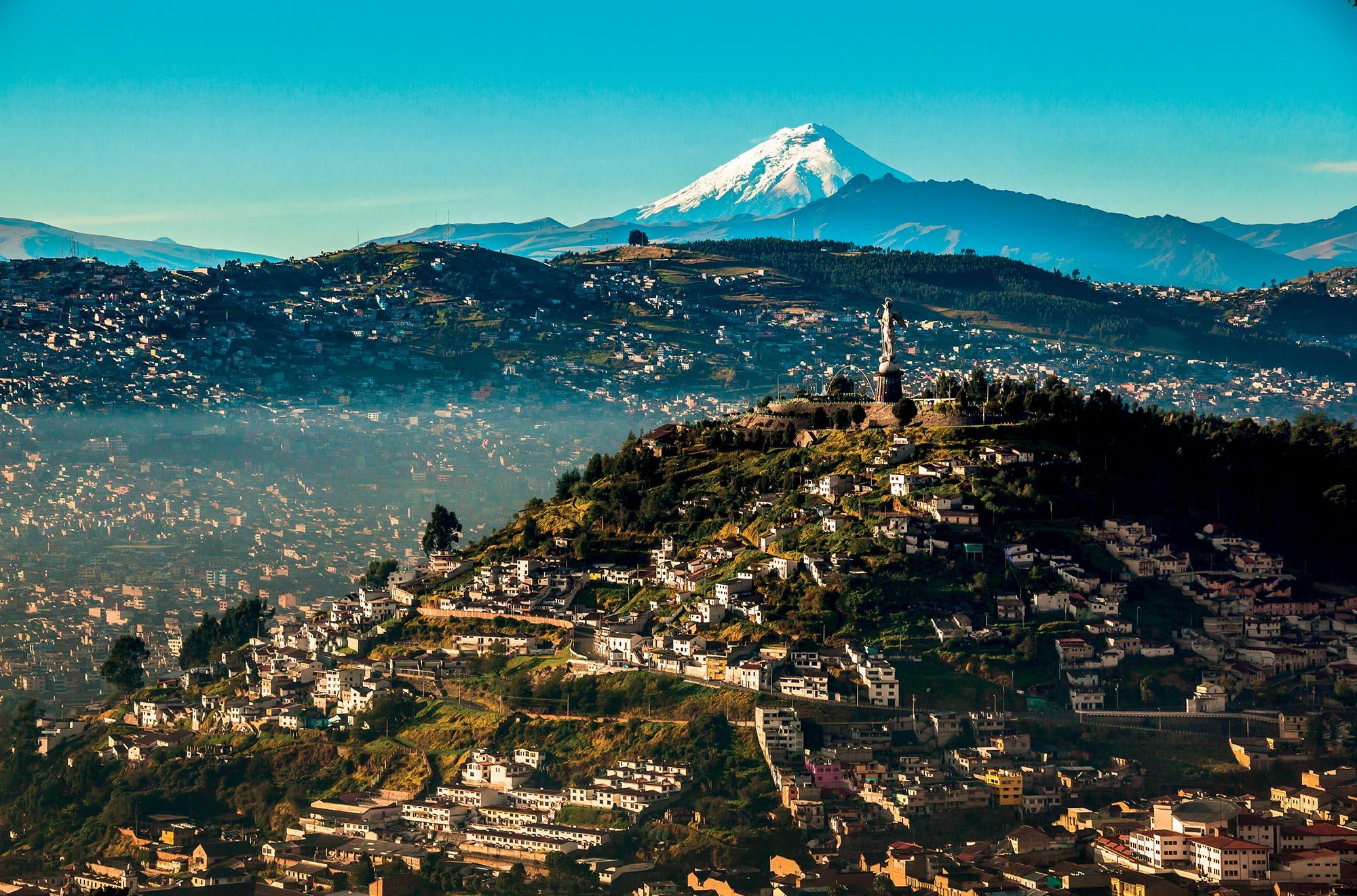 địa điểm địa điểm Cotopaxi ngọn núi lửa cao nhất