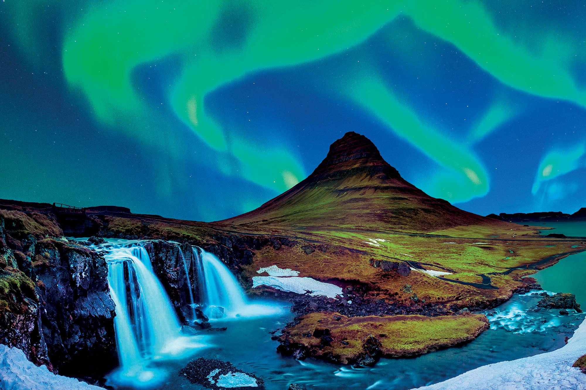 địa điểm Iceland hiện tượng cực quang