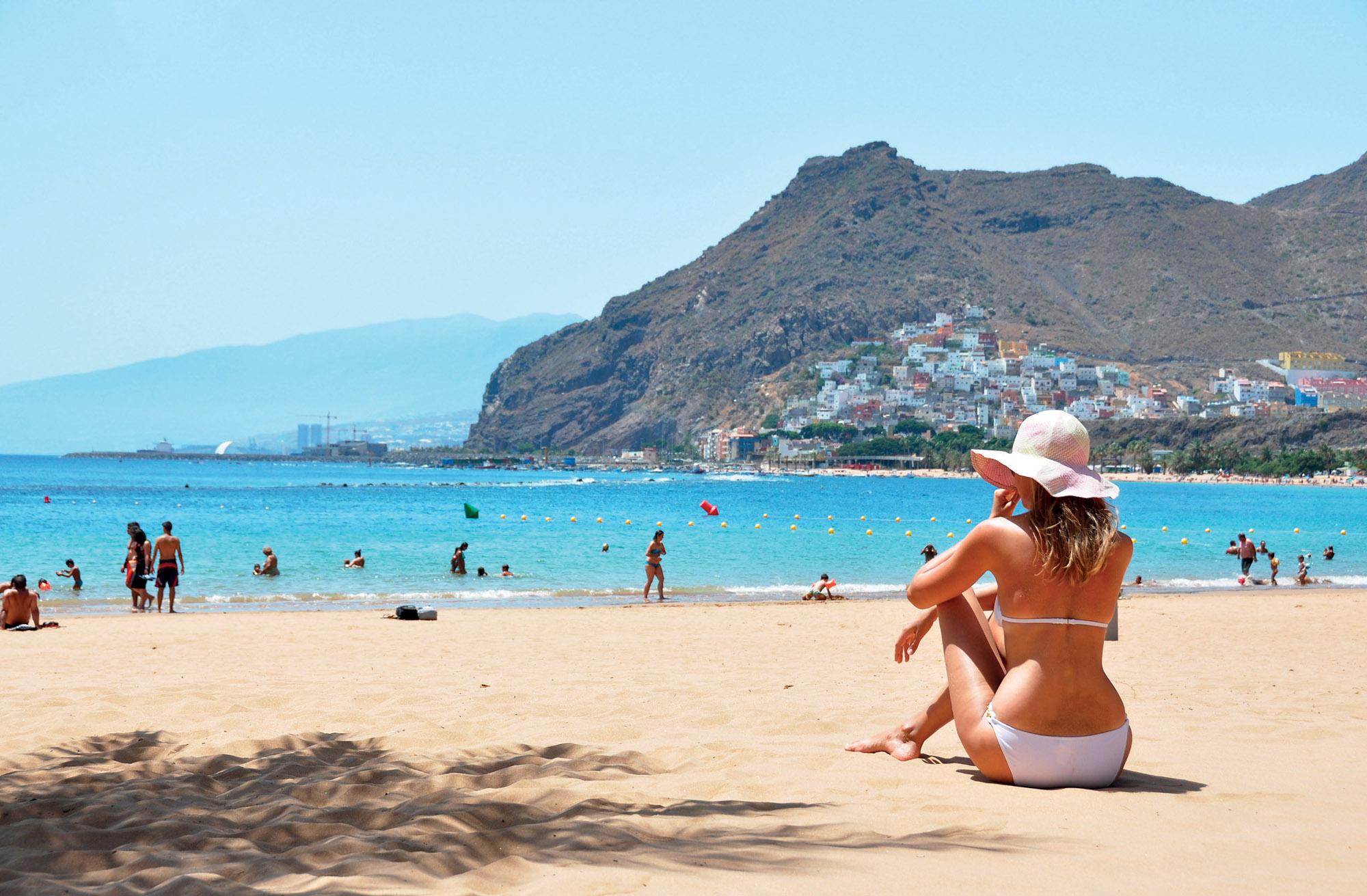 địa điểm bãi biển Tây Ban Nha