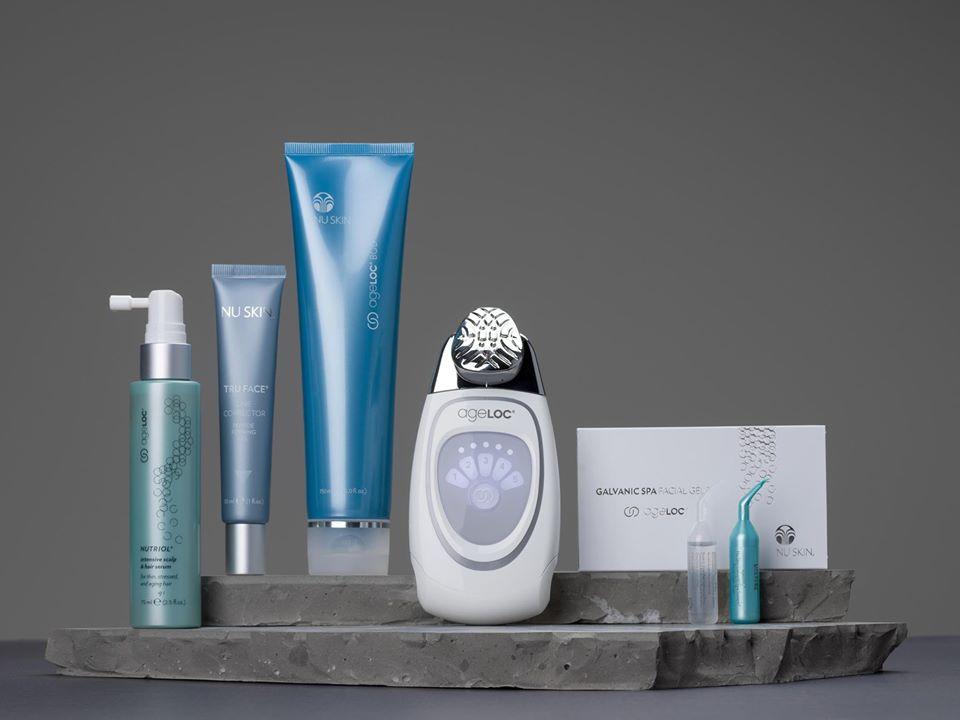 Chăm sóc da-Bộ sản phẩm thương hiệu Nu Skin.