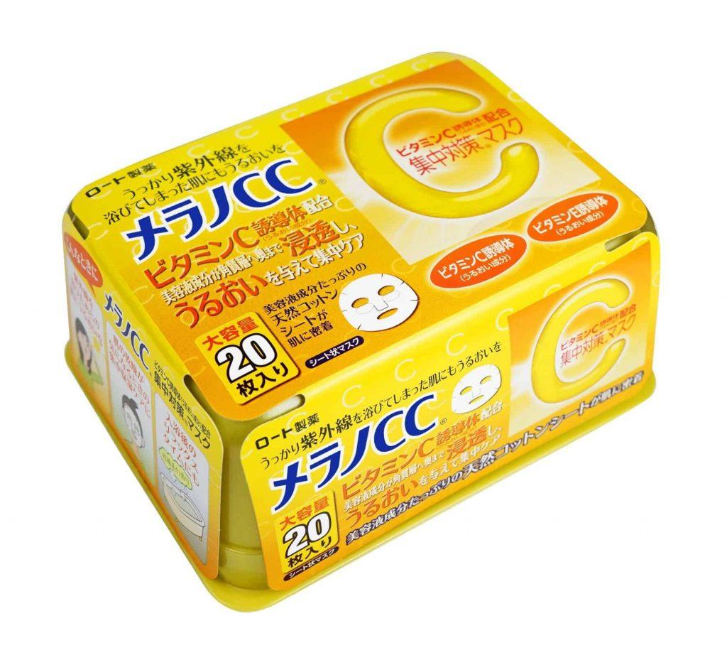 mặt nạ trị mụn cc melano vitamin c