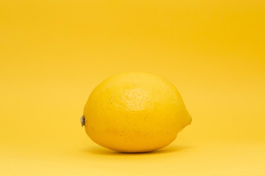 Thức uống detox-Trái chanh vàng.