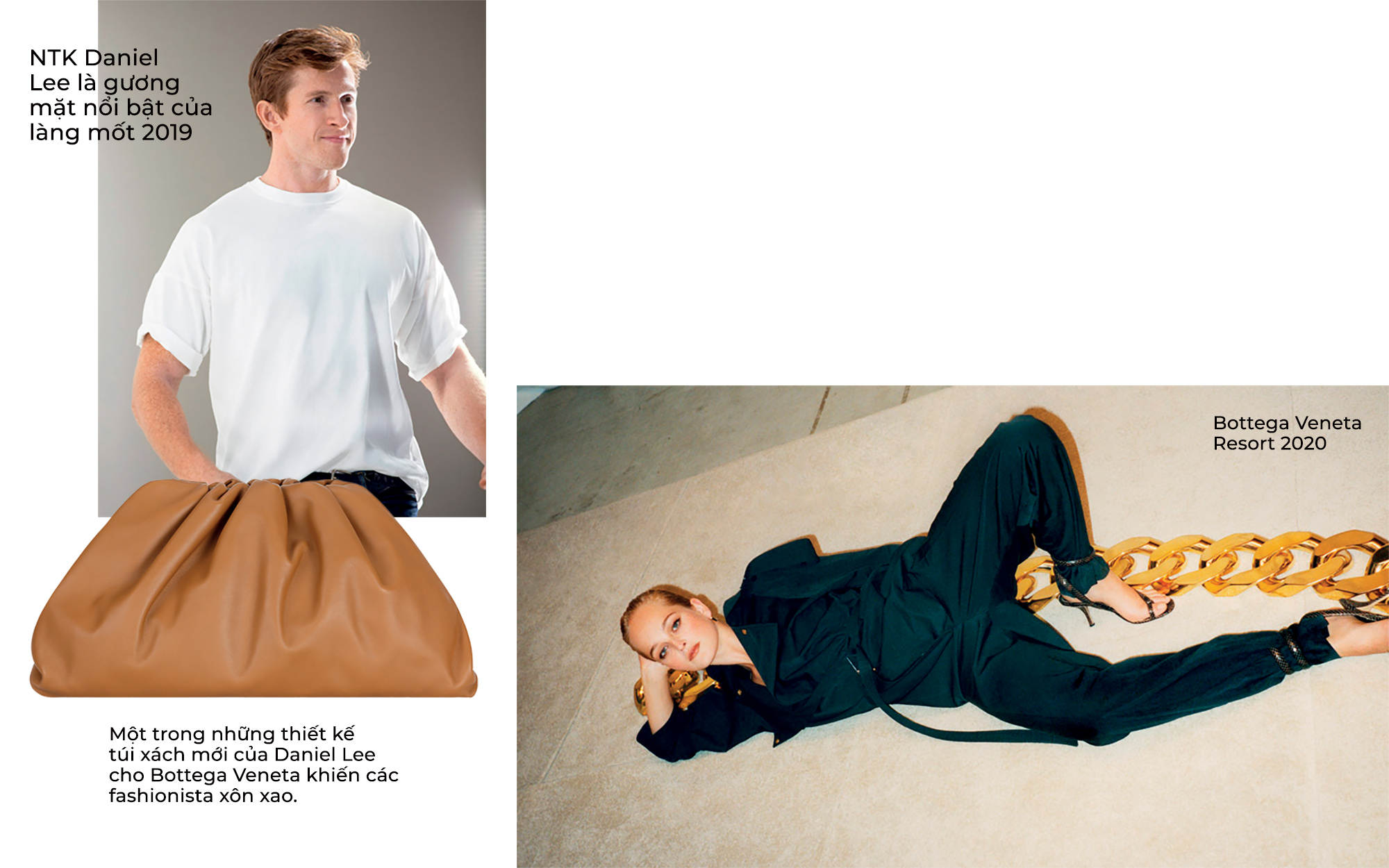 thời trang tân binh Daniel Lee