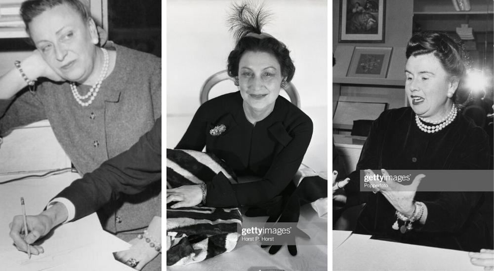 Mitzah Bricard, Raymonde Zehnacker và Marguerite Carré