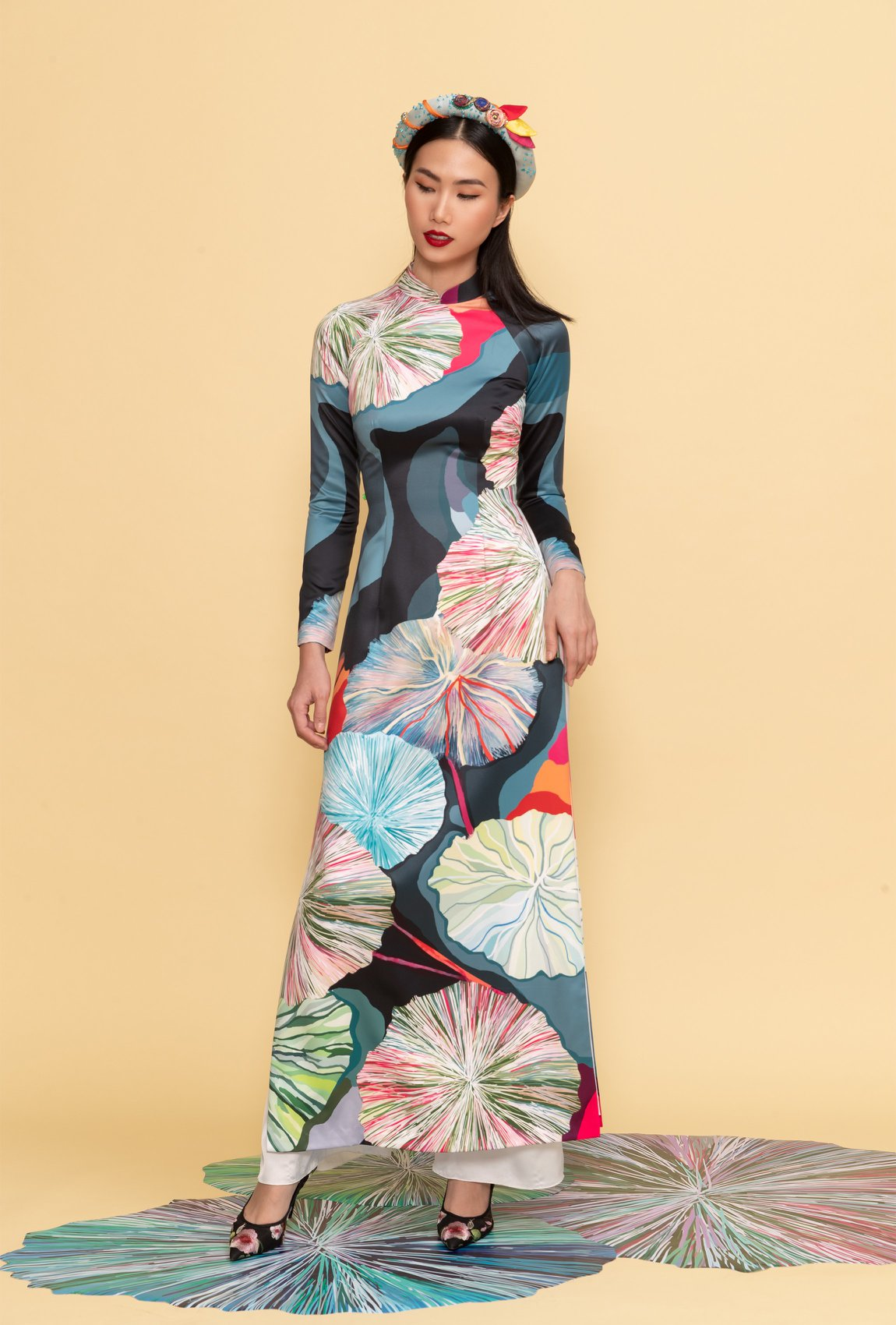 áo dài tết 2020 thủy design house